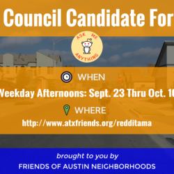 Council Candidate AMAs